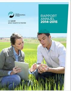Couverture rapport annuel 2014-2015